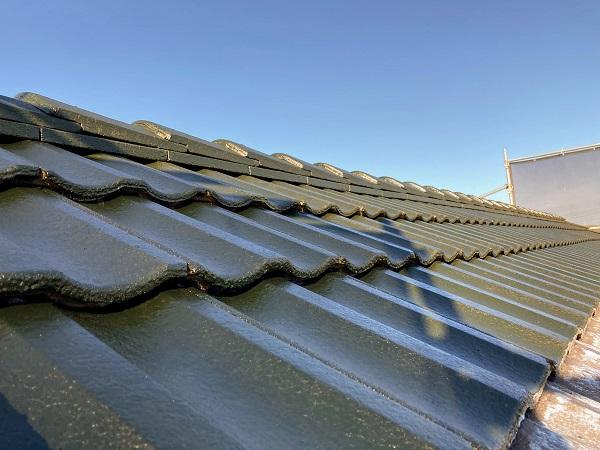 深緑の屋根