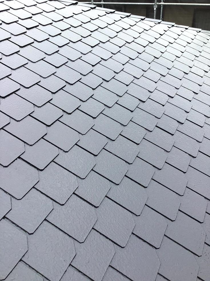 屋根塗装完了しました!
