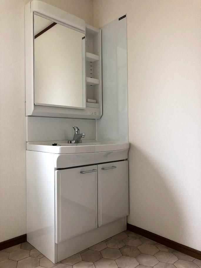 洗面所リフレッシュ施工