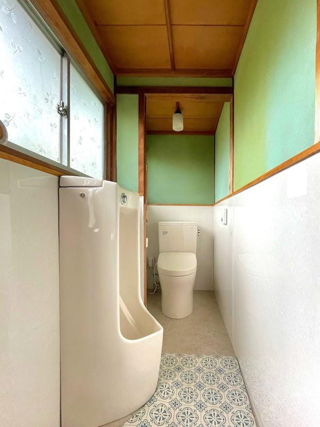 【トイレリフォーム】和式⇒洋式トイレ