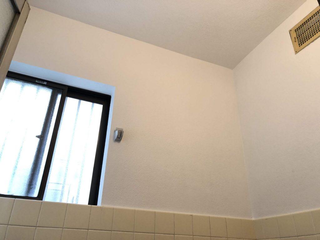 お風呂の壁・天井を塗装して綺麗にしちゃいましょう♪