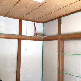 和室塗り替え工事