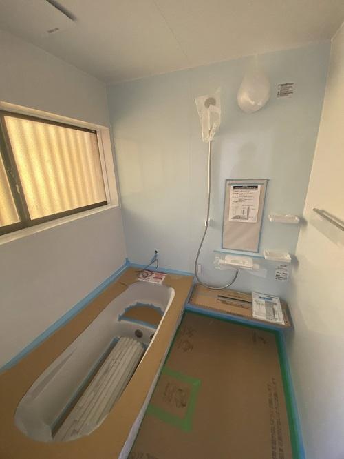 倉敷市でタイル風呂からユニットバスへ⑦