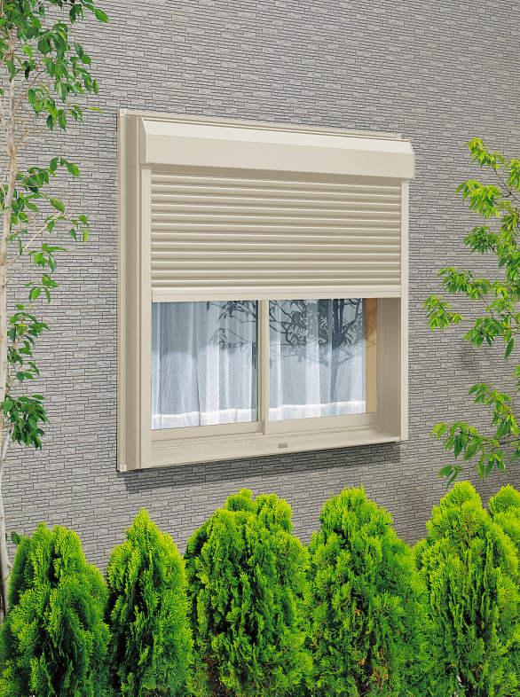 窓シャッターの設置